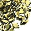 Czech DiamonDuo 2-Hole 8x5mm 10g - Full Aurum (gold)
