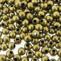 Spacer Round 4mm Antique Bronze. Pack of 200