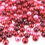 Mixed Luster Glass Pearls Round 6mm - Pink Fusion (200 pcs)