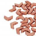 Czech Chevron Duo Beads 10x4mm Bronze Copper 30BD/ST