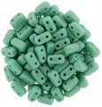 Brick Beads 2-Hole 3 x 6mm 50pcs - Persian Turquoise