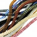 10 Strand Value Pack Czech Glass Brick 2-Hole Beads Assorted