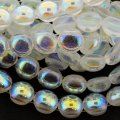Candy Beads 2-Hole Cabochon 8mm 20pcs - Crystal AB