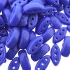 Cali Beads 3-Hole 3x8mm 50pcs - Blue Opaque