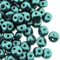 ES-O Mini Beads 2-Hole 4mm 5 GM - Pastel Blue Zircon