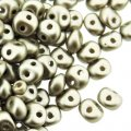 ES-O Mini Beads 2-Hole 4mm 5 GM - Cocoa Airy Pearl