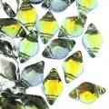 GemDUO 2-Hole beads 8x5mm 10GM - Backlit Uranium