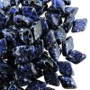 GemDUO 2-Hole beads 8x5mm 10GM - Jet Indigo Confetti