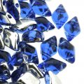 GemDUO 2-Hole beads 8x5mm 10GM - Backlit Sapphire