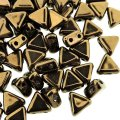 Kheops Puca Beads 2-hole 6mm 9GM - Dark Bronze