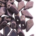 Kite Beads 2-Hole 9x5mm 9GM - Chalk Purple Vega