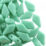 Kite Beads 2-Hole 9x5mm 9GM - Turquoise Green