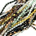 10 Strand Value Pack Czech Glass Pinch Beads 7mm Assorted