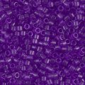 DB1312 Miyuki Delica Seed Beads 11/0 Transparent Red Violet 7.2G