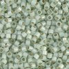 DB1454 Miyuki Delica Seed Beads 11/0 Silver Lined Lt Moss 7.2GM