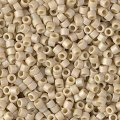 DB2301 Miyuki Delica Seed Beads 11/0 Frosted Opq Glazed RB Ivory