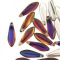 Dagger Beads 5x16mm 25pcs - Backlit Vapor