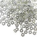 Silver Plated Daisy 4mm Spacer Beads - pack of 400