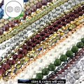 25 Strands Value Pack Czech Glass Fire Polished Beads Assorted