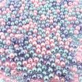Mixed Luster Glass Pearls Round 4mm - Princess Mix (800 pcs)