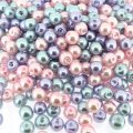 Mixed Luster Glass Pearls Round 6mm - Princess Mix (200 pcs)