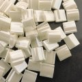 Miyuki Tila Beads 5mm 2-hole Square Antique Ivory Pearl Ceylon