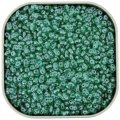 Czech MiniDuo Two-hole Beads 4x2mm Emerald Luster 8g