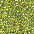 Miyuki Round Seed Beads Size 11/0 Silver Lined Chartreuse 24GM