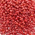 Miyuki Round Seed Beads Size 11/0 Opaque Red Luster 8.5g