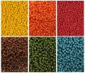 Miyuki Round Seed Beads Size 11/0 - Fall Collection