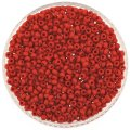 Miyuki Round Seed Beads Size 8/0 Opaque Red 24GM