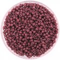 Miyuki Round Seed Beads Size 8/0 DURACOAT Opaque Violet 24GM