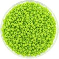 Miyuki Round Seed Beads Size 8/0 Opaque Chartreuse 24G