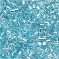 DB044 Miyuki Delica Seed Beads 11/0 Silver Lined Lt Blue 7.2G