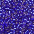 DB047 Miyuki Delica Seed Beads 11/0 Silver Lined Sapphire 7.2G