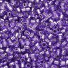 DB1347 Miyuki Delica Seed Beads 11/0 Silver Lined Lilac 7.2GM