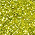 DB147 Miyuki Delica Seed Beads 11/0 Silver Lined Chartreuse 7.2g