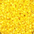 DB1562 Miyuki Delica Seed Beads 11/0 Opaque Canary Luster 7.2g