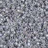DB1570 Miyuki Delica Seed Beads 11/0 Opaque Ghost Gray Luster