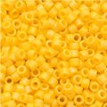 DB1592 Miyuki Delica Seed Beads 11/0 Matte Opaque Canary AB