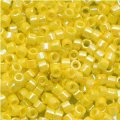 DB160 Miyuki Delica Seed Beads 11/0 Opaque Yellow AB 7.2g