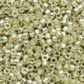 DB1831 Miyuki Delica Seed Beads 11/0 DURACOAT Glvn Silver 7.2G