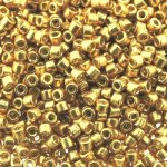 DB1832 Miyuki Delica Seed Beads 11/0 DURACOAT Glvn Gold 7.2G
