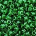 DB655 Miyuki Delica Seed Beads 11/0 Opaque Kelly Green 7.2G