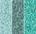Miyuki Delica Seed Beads 11/0 Combo: Seafoam Mist Collection