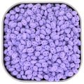 Czech SuperDuo Two-hole Beads 5x2.5mm Bondeli Matt Purple 22.5GM