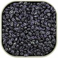 Czech SuperDuo Two-hole Beads 5.5x2.5mm Tweedy Violet 24G