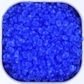 Czech SuperDuo Two-hole Beads 5.5x2.5mm Sapphire Matte 24G