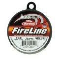 "Fireline Beading Thread 6LB Crystal Clear .006"" dia. 50 Yards"