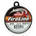 "Fireline Beading Thread 6LB Smoke Grey .006"" dia. 50 Yards"